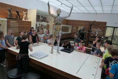 Foto zur Meldung: Exkursion ins Hygienemuseum