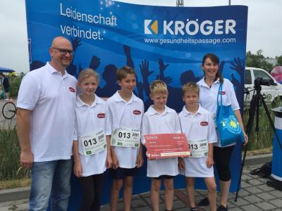 Foto zur Meldung: Teilnehmer am Krögerlauf