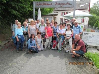 Ankunft in Simmern