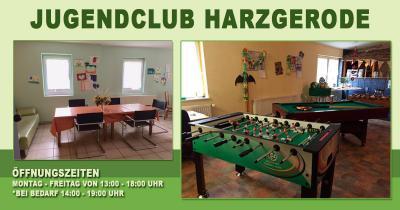 Foto zu Meldung: Jugendclub Harzgerode ist wieder geöffnet
