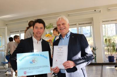 Auszeichnung 'Sportfreundliche Schule'