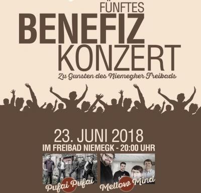 Foto zur Meldung: 23. Juni: Benefizkonzert zu Gunsten des Niemegker Freibads