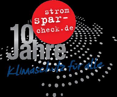 Logo 10 Jahre Stromspar-Check