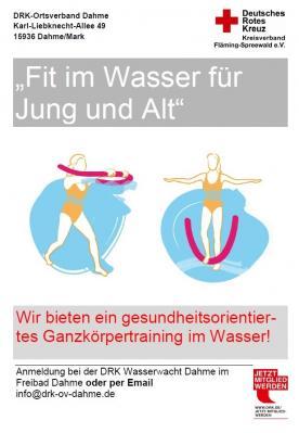 """Vorschaubild zur Meldung: """"Fit im Wasser - für Jung und Alt"""""""