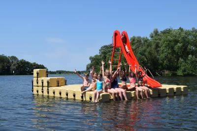 Vorschaubild zur Meldung: Strandbad Ketzin/Havel - jetzt auch mit Wasserrutsche!