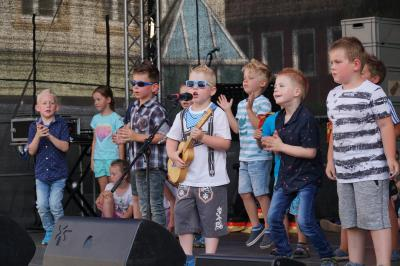 Die kleinen Stars zählten zu den Publikumslieblingen. Foto: Andreas König/Stadt Pritzwalk