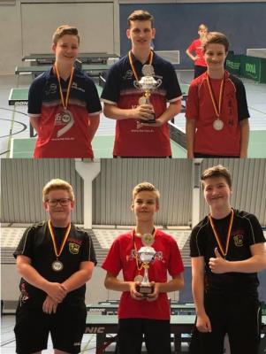 Vorschaubild zur Meldung: Tom Piper und Bennett Sonka holen Titel bei Tischtennis-Kreisrangliste der Jugend