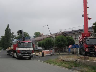 Vorschaubild zur Meldung: Erneuerung der Dachfläche Glasmuseum Immenhausen