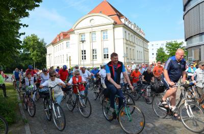 Foto zur Meldung: Tour de OSL – der Countdown läuft / Los geht es am Samstag um 9 Uhr in Vetschau/Spreewald