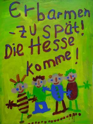 Quer Beet in Hochstadt - Ausstelung vom KunstRaum im Brockenhaus Hanau