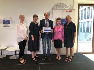 "Vorschaubild zur Meldung: SESB-Schulen - Zertifikat der ""Exzellenten Europabildung"""