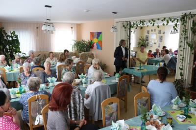 Foto zu Meldung: Seniorenwoche startet mit Bürgermeisterdialog