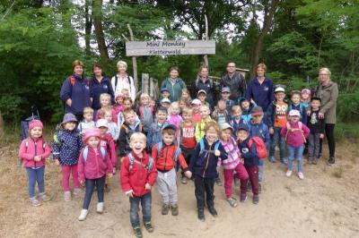 Foto zur Meldung: Leserbrief: Kinder der Sportkita Falkennest besuchen den Kletterwald