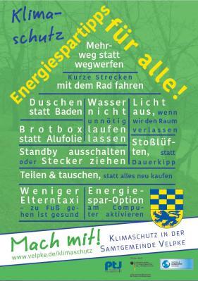 Foto zur Meldung: Verlängerung des Klimaschutzmanagements in der Samtgemeinde Velpke