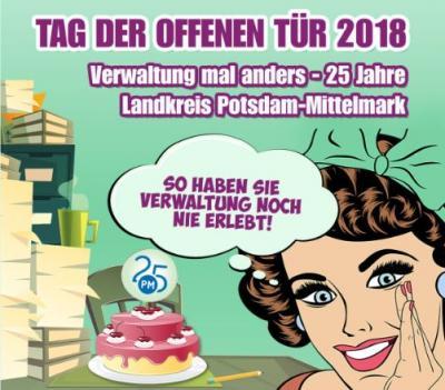 Foto zur Meldung: Landkreis Potsdam-Mittelmark: Tag der offenen Tür am 30. Juni 2018