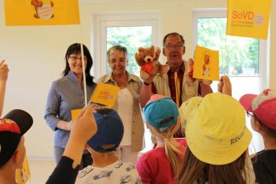 Foto zur Meldung: Sozialverband hilft Familien