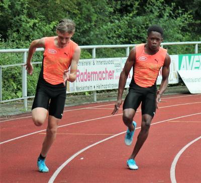 Foto zur Meldung: Ajani Mc Lawrence siegt über 100m in Meckenheim