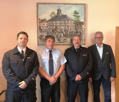 Vorschaubild zur Meldung: Ernennungen bei der Waldsolmser Feuerwehr