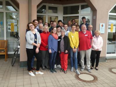 Foto zur Meldung: Generationenworkshop im Generationentreff LEBENSWert