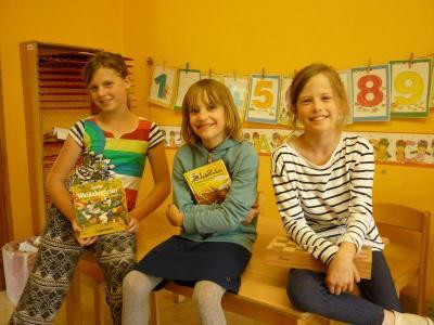"Foto zur Meldung: Kita ""Villa Kleeblatt"" dankt ihren Schülerpatinnen"