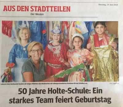 Schulfest Presse