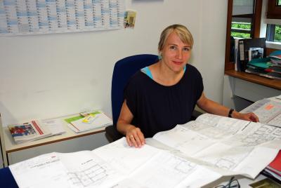Behinderten- und Seniorenbeauftragte des LK TF, Antje Bauroth, 2018