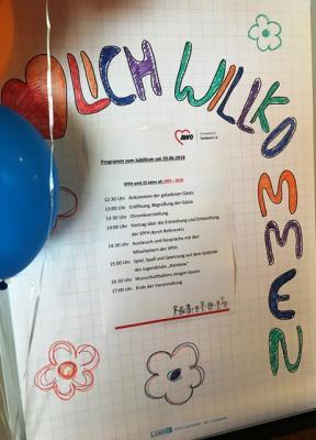 Vorschaubild zur Meldung: 25 Jahre für Familien - 25 Jahre Sozialpädagogische Familienhilfe