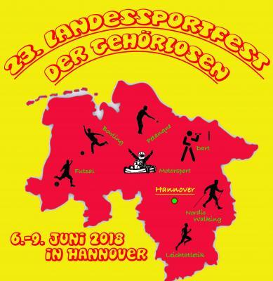 Vorschaubild zur Meldung: 23. Landessportfest der Gehörlosen in Hannover