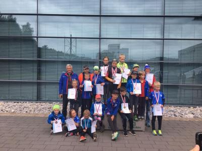 Foto zur Meldung: Thüringer Sommermeisterschaften SP/NK der Schüler