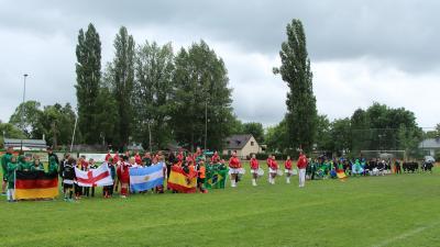 Foto zur Meldung: Mini WM der SG Geltow e.V. eröffnet