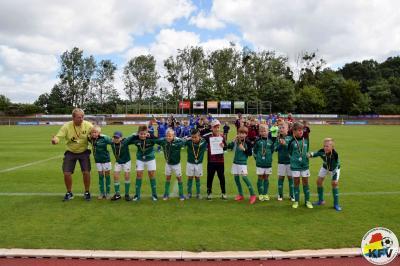 Foto zur Meldung: F-Jugend geht bei Kreismeisterschaft leer aus