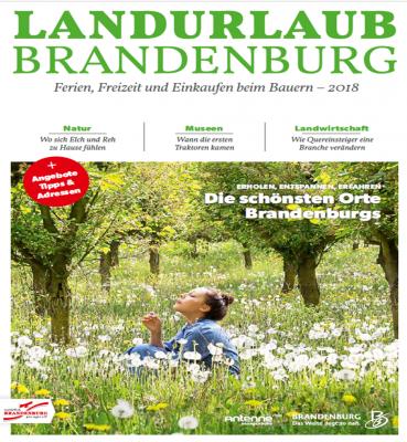 """Foto zur Meldung: Katalog 2019 """"Landurlaub Brandenburg - Ferien, Freizeit, Einkaufen direkt beim Bauern"""""""