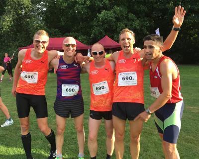 Foto zur Meldung: LAZ-Team gewinnt 7. Beueler Teamlauf