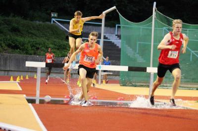 Foto zur Meldung: Sambia-Sprinter glänzten mit Stadionrekorden
