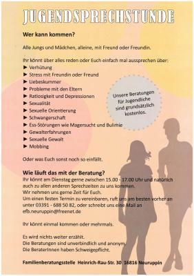 IJN im IBZ - Erziehungs- und Familienberatungsstelle der Initiative Jugendarbeit Neuruppin e.V. mit erweitertem Angebot.