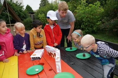 "Foto zu Meldung: Schüler bereiten Kitakindern ""olympische"" Freude"