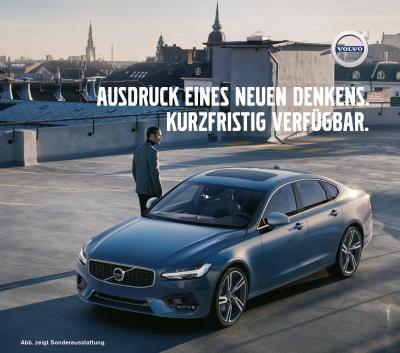 Vorschaubild zur Meldung: Exklusives Sommerangebot für DGSP-Mitglieder: der neue Volvo S90 T4 Automatic R-Design
