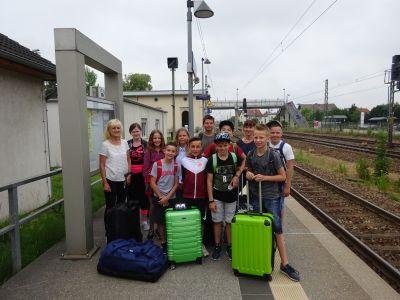 Foto zur Meldung: Abschlussfahrt der Klasse 6 nach Sebnitz