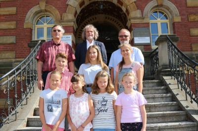 Foto zur Meldung: Calauer Kids denken Europa