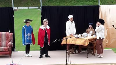 Foto zur Meldung: Eisenzeit-Festspiele: Prinzessin Mäusehaut