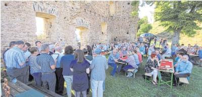 Foto zur Meldung: 730. Geburtstag der Burg lockte viele Besucher an