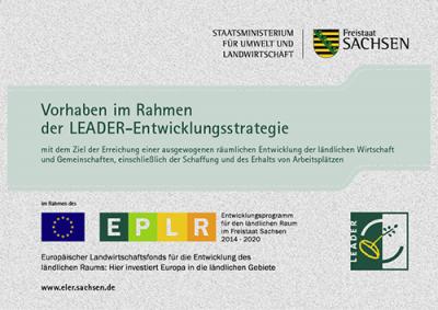 Für den Spielturm, Wippfiguren und Wippe auf der Teilfläche Rodelberg wurde eine Förderung nach RL LEADER/2014 aus dem ELER beantragt.