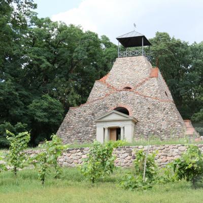 Foto zu Meldung: Die Pyramide Garzau und ihre Zeit