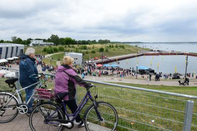 Foto zur Meldung: Impressionen vom Kleinen Hafenfest