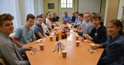 Die Frühstücksrunde. I Foto: Christiane Schomaker