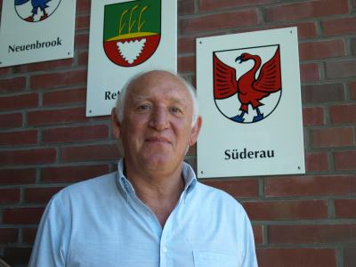 Foto zur Meldung: Gerhard Lange ist neuer Bürgermeister der Gemeinde Süderau