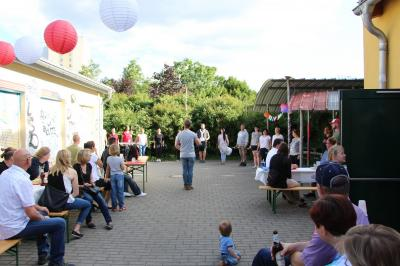 Foto zur Meldung: 55 Jahre Fanfarenzug Potsdam gefeiert