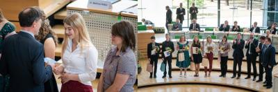 Foto zur Meldung: Schülerin der Freien Oberschule Rietschen gehört zu den Besten in Sachsen