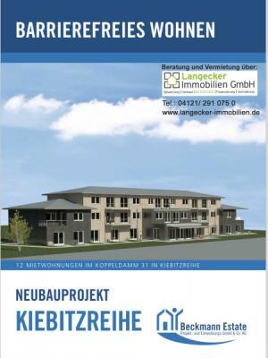 """Vorschaubild zur Meldung: Präsentation zum Neubauprojekt """"Barrierefreies Wohnen"""" im Koppeldamm am 18.07.2018 um 18:00 im Gemeinderaum"""