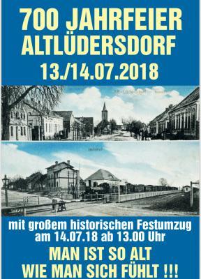 Vorschaubild zur Meldung: 700 Jahre Altlüdersdorf